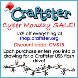 Craftster Cyber Monday Sale