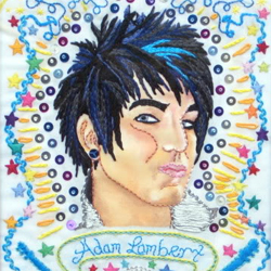 Embroidered Adam Lambert