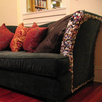 Button Couch