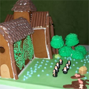 Gingerbread nunnery