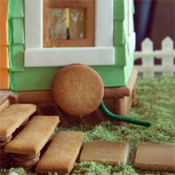 UP inspired gingerbread house