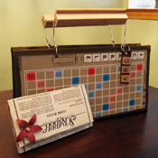 Scrabble purse and wallet