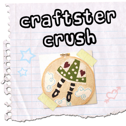 Craftster Crush sheepBlue