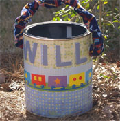 Paint can baskets