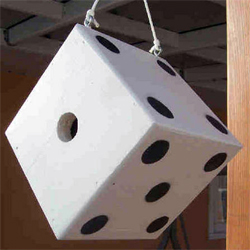 Dice birdhouse