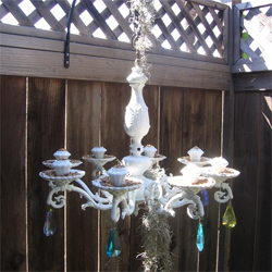 Home sweet home make or revamp your own chandelier for Build your own chandelier