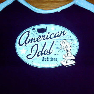 American Idol t-shirt bag