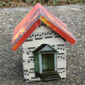 Sheet music house