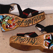 Tattoo wedges