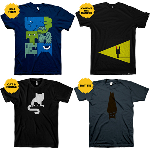 Milk and Eggs, Co. t-shirts
