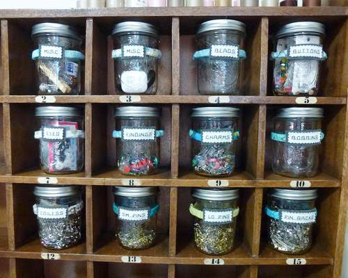 Here Are My Jars All Neatly Labeled This Was A Fast And Fun Practical Project I Love It