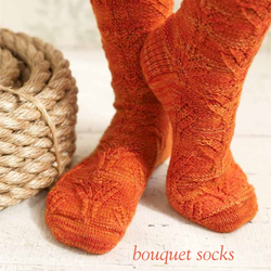 Bouquet Socks - Step by Step Tutorial
