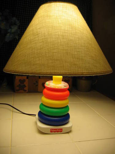 Ring Toy Lamp