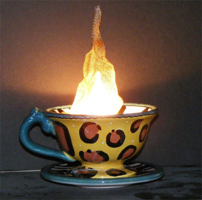 Steamy Cup Lamp