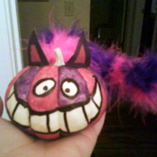 Cheshire Cat Pumpkin