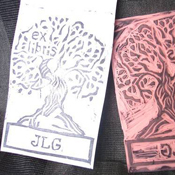 Bookplate Stamp
