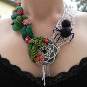 Garden Beaded Necklace